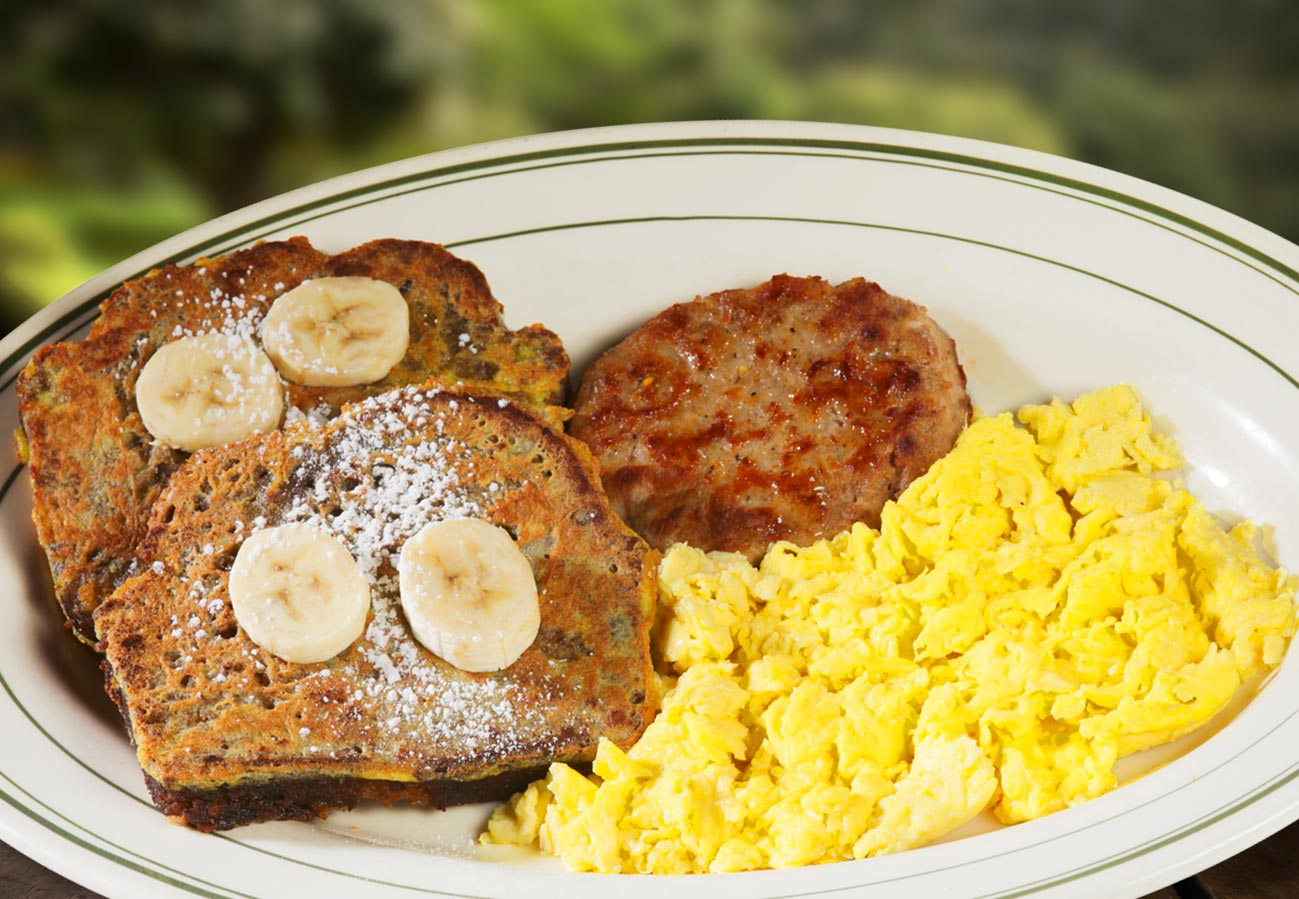 BANANA NUT FRENCH TOAST COMBO