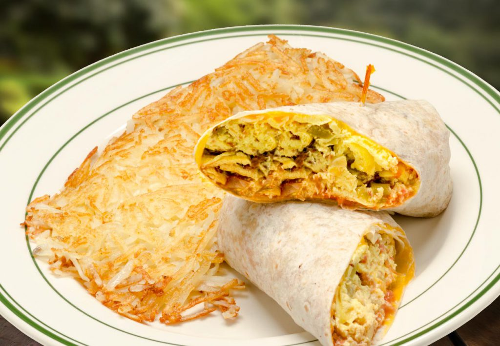 THE LOGGER'S BREAKFAST BURRITO