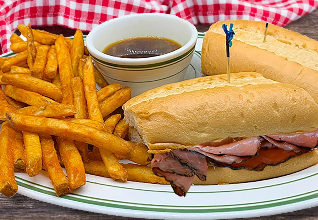 French Dip Sandwhich